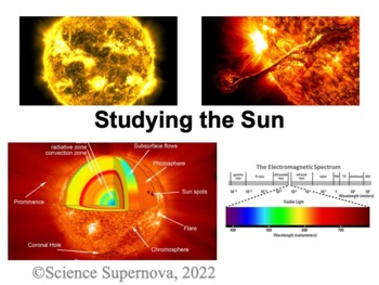 The Sun and The Solar System PPT and Student Note Taking Guide
