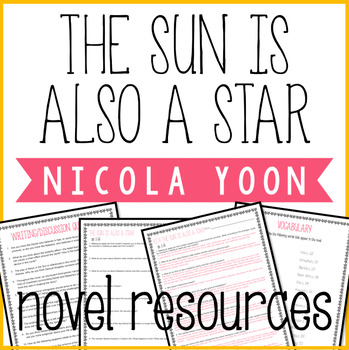 The Sun is Also a Star Novel Resources and Reading Questions