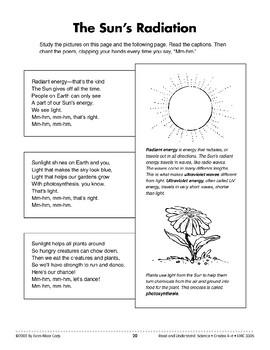 The Sun's Radiation (Physical Science/Energy, Light)
