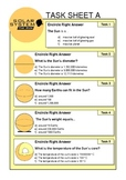 The Sun task sheets ( Solar System )