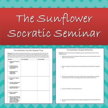The Sunflower (Holocaust) Socratic Seminar Student & Teacher Resources
