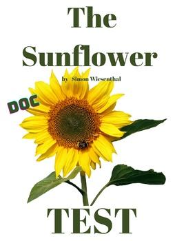 The Sunflower - Multiple Choice Test