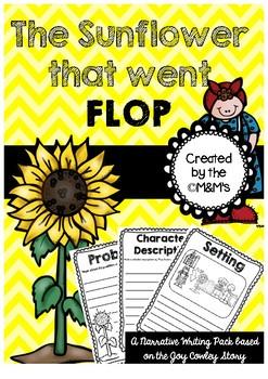 The Sunflower that went Flop Joy Cowley Author Study