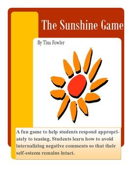 The Sunshine Game - Responding Assertively to Teasing