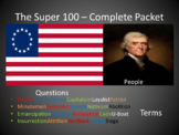 The Super 100 - Complete Packet
