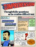 Super Hero Reading Strategy Anchor Chart- Comic