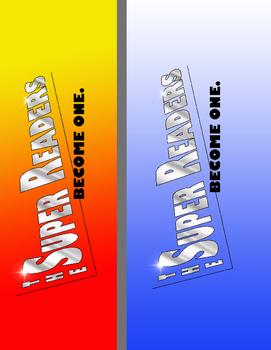 The Super Readers Logo