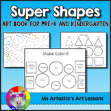 Shape Art Book, Art Lessons