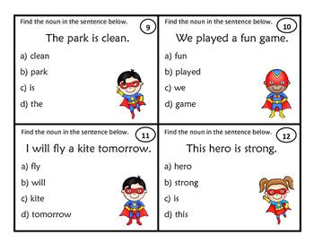 The Superhero Noun Game