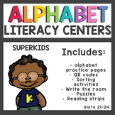 The Superkids Club Kindergarten Literacy Centers Units 21-24