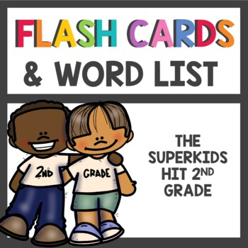 2nd Grade Flash Cards & Word List
