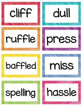 2nd grade Flash Cards & Word List 2nd Semester