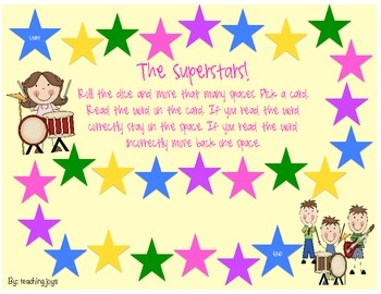 The Superstars! Controlled R with -ar