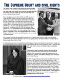 The Supreme Court & Civil Rights Reading Worksheet