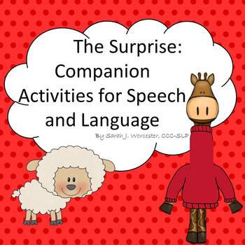 The Surprise: Companion Activities for Speech and Language
