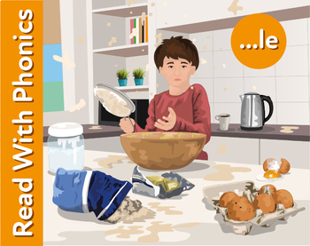 The Surprise: Learn Words Ending in le (as in apple) Learn To Read With Phonics