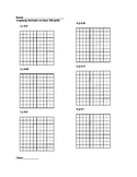 Graphing Decimals on Base 100 Grids