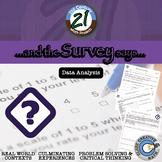 The Survey Says -- Quantitative Questionnaire - 21st Century Math Project