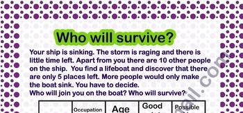 The Survivor Game