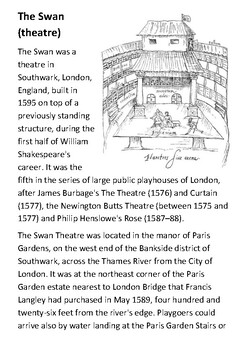 The Swan (theatre) Handout