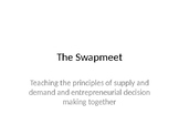 The Swapmeet: Supply and Demand Fun Activity