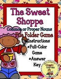 The Sweet Shoppe Proper or Common Nouns File Folder Game
