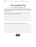 The Sweetest Fig Recording Sheet by Chris Van Allsburg