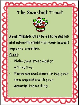 December Centers Holiday Writing