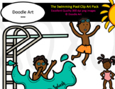 The Swimming Pool Clip Art Pack