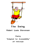 The Swing  by Robert Louis Stevenson (PDF Color download)