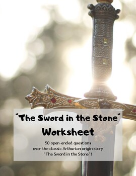 The Sword in the Stone: Worksheet