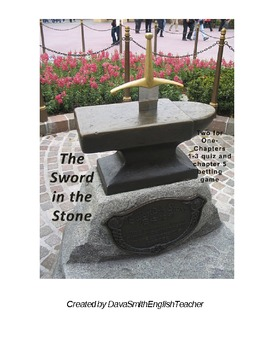 The Sword in the Stone by T.H. White quiz and game