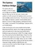 The Sydney Harbour Bridge Handout