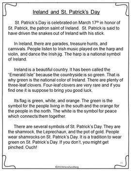 Celebrating Ireland And St Patricks Day