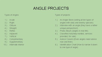 The TOP TEN when it comes to ANGLES