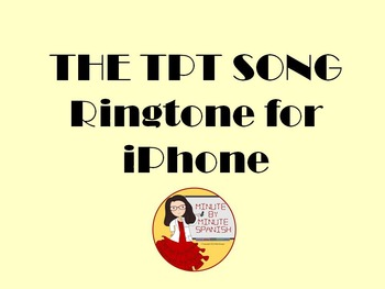 The TPT SONG - Ringtone for iPhone