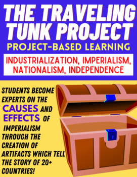 """PROJECT-BASED LEARNING: Imperialism - """"The Traveling Trunk!"""""""