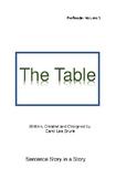 'The Table' Volume 3 PreReader by Carol Lee Brunk Comprehe