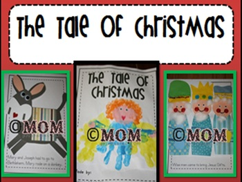 """The Tale of Christmas"" Keepsake Book"