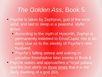 The Tale of Cupid and Psyche Part II