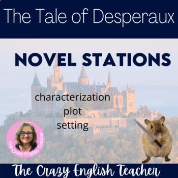 The Tale of Despereaux Novel Literacy Stations