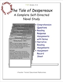 The Tale of Despereaux: A Complete Self-Directed Novel Study