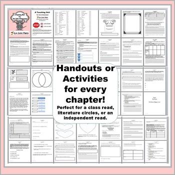 The Tale of Despereaux Novel Unit ~ Activities, Handouts, Tests!
