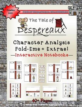 The Tale of Despereaux Activity Bundle