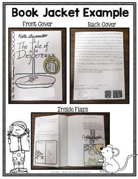 Tale of Despereaux Project: Create a Book Jacket Activity