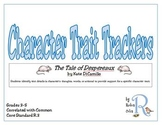 The Tale of Despereaux Character Trait Trackers