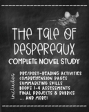 The Tale of Despereaux Complete Novel Study