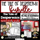 The Tale of Despereaux Comprehensive Novel Study & Persuasive Writing Activity