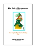 The Tale of Despereaux   Free Graphic Organizer for Writing