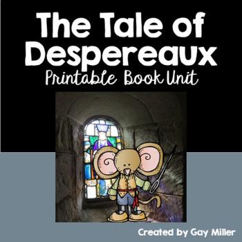 The Tale of Despereaux [Kate DiCamillo] Printable Book Unit
